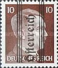 [Adolf Hitler,1889-1945 - Graz Overprint On German Empire Stamps, type HY]