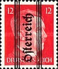 [Adolf Hitler,1889-1945 - Graz Overprint On German Empire Stamps, type HZ]