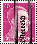 [Adolf Hitler,1889-1945 - Graz Overprint On German Empire Stamps, type IG]