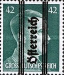 [Adolf Hitler,1889-1945 - Graz Overprint On German Empire Stamps, type IH]