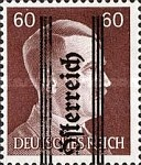 [Adolf Hitler,1889-1945 - Graz Overprint On German Empire Stamps, type IJ]