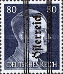 [Adolf Hitler,1889-1945 - Graz Overprint On German Empire Stamps, type IK]