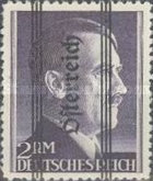 [Adolf Hitler, 1889-1945 - German Empire Postage Stamps Overprinted in Thick Letters - Österreich 18½ mm Long, Typ IL2]