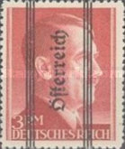 [Adolf Hitler, 1889-1945 - German Empire Postage Stamps Overprinted in Thick Letters - Österreich 18½ mm Long, type IL4]