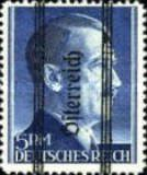 [Adolf Hitler, 1889-1945 - German Empire Postage Stamps Overprinted in Thick Letters - Österreich 16¼ mm Long, type IS3]