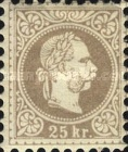[Issues of Austro-Hungarian Monarchy - Fine Print, Typ K25]