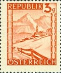 [Landscapes Stamps of 1945-1947 in New Colors, Typ KB1]