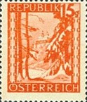 [Landscapes Stamps of 1945-1947 in New Colors, Typ KL1]