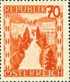 [Landscapes Stamps of 1945-1947 in New Colors, Typ LB1]