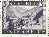 [Landscapes Stamps of 1945-1947 in New Colors, Typ LG1]