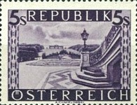 [Landscapes Stamps of 1945-1947 in New Colors, Typ LH1]