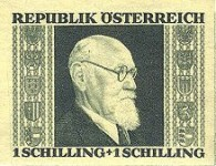 [Charity Stamps - President Renner, Typ LJ1]