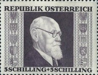 [Charity Stamps - President Renner, Typ LJ4]