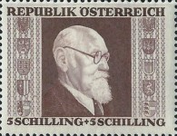 [Charity Stamps - President Renner, Typ LJ6]