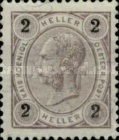 "[Emperor Franz Josef I, 1830-1916 - Value in ""Heller"" Without Varnish Bars, Numerals in Black, type N17]"