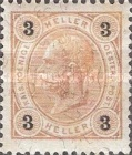"[Emperor Franz Josef I, 1830-1916 - Value in ""Heller"" Without Varnish Bars, Numerals in Black, type N22]"