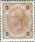 [Emperor Franz Josef I, 1830-1916 - With Varnish Bars, type N33]