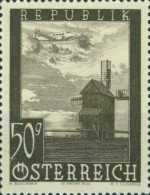 [Airmail - Airplanes over Buildings, Typ NR]