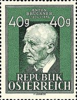 [The 125th Anniversary of the Birth of Anton Bruckner, 1824-96, Typ QN]