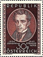 [The 100th Anniversary of the Death of Johann Strauss the Elder, 1804-1849, Typ QR]