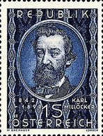 [The 50th Anniversary of the Death of Karl Millöcker, 1842-99, Typ QZ]
