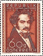 [The 160th Anniversary of the Birth of Moritz Daffinger, 1790-1849, Typ RA]