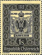[The 100th Anniversary of the First Austrian Stamps, Typ RH]