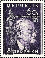 [The 100th Anniversary of the Death of Josef Madersperger, type RI]