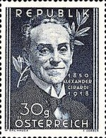 [The 100th Anniversary of the Birth Alexander Girardi, type RP]