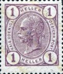 [Emperor Franz Josef I, 1830-1916 - With Varnish Bars, type S]