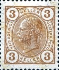 [Emperor Franz Josef I, 1830-1916 - With Varnish Bars, type S2]