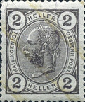 [Emperor Franz Josef I, 1830-1916 - Without Varnish Bars, type S6]