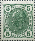[Emperor Franz Josef I, 1830-1916 - Without Varnish Bars, type S8]