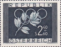 [Olympic Games - Oslo 1952, type SH]