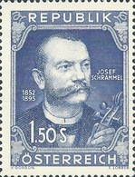 [The 100th Anniversary of the Birth Josef Schrammel, type SJ]
