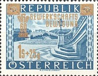 [The 60th Anniversary of the Austrian Trade Union Movement, type SV]