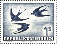 [Airmail - Birds, type SW]