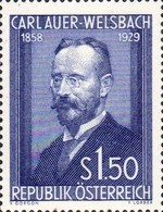 [The 25th Anniversary of the Death of Dr. Carl Auer Baron of Welsbach, Typ TS]