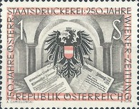 [The 150th Anniversary of the Austrian State Printing Works, Typ TX]