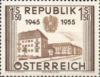 [The 10th Anniversary of the Restoration of Austrian Independence, Typ UB]