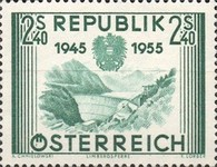 [The 10th Anniversary of the Restoration of Austrian Independence, Typ UC]