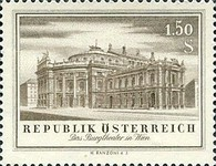 [The Re-opening of the Burg Theatre and the State Opera, Typ UG]