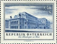 [The Re-opening of the Burg Theatre and the State Opera, Typ UH]