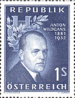 [The 25th Anniversary of the Death of Anton Wildgans, Typ UT]