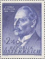 [The 100th Anniversary of the Birth of Professor Dr. Oswald Redlich, Typ VL]