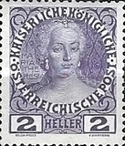 [The 60th Anniversary of the Reign of Emperor of Franz Josef,I. Normal Paper without Varnish Bars, Typ W2]