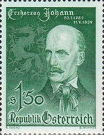 [The 100th Anniversary of the Death of Archduke Johann of Austria, Typ WD]