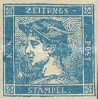 [Newspaper Stamps - Mercurius Head, Typ XBA]