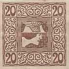 [Newspaper Stamps, type XBF3]