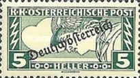 [Express Stamps of 1917 Overprinted